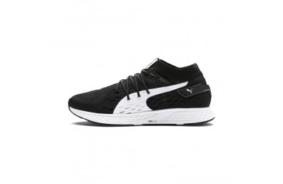 Puma SPEED 500 Men's Running Shoes Black- White Outlet Sale