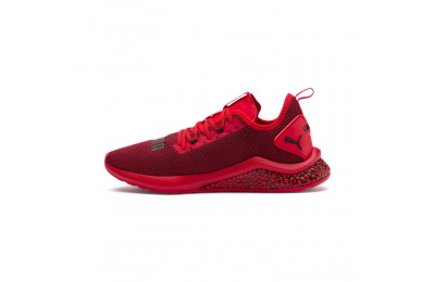 Puma HYBRID NX Men's Running Shoes High Risk Red- Black Outlet Sale