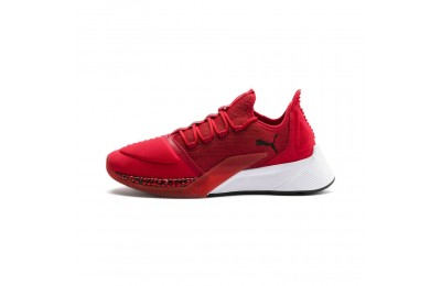 Black Friday 2020 Puma Xcelerator Men's Sneakers High Risk Red-White-Black Outlet Sale