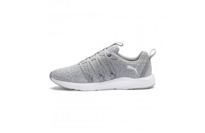 Black Friday 2020 Puma Prowl Alt Knit Women's Training Shoes Quarry- White Outlet Sale