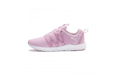 Black Friday 2020 Puma Prowl Alt Knit Women's Training Shoes Pale Pink- White Outlet Sale