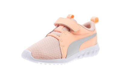 Puma Carson 2 Metallic AC Sneakers PSPeach Bud-Bright Peach-White Outlet Sale