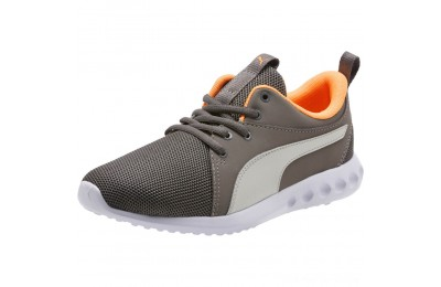 Puma Carson 2 Casual Sneakers JRChar Gray-Glac Gray-Orange Outlet Sale