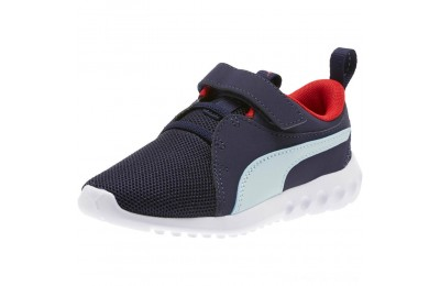 Puma Carson 2 Casual AC Sneakers PSPeacoat-Light Sky-Red Outlet Sale