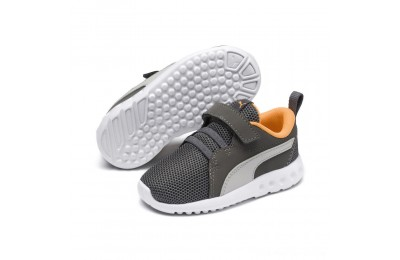 Black Friday 2020 Puma Carson 2 Casual AC Sneakers PSChar Gray-Glac Gray-Orange Outlet Sale