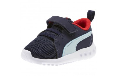 Black Friday 2020 Puma Carson 2 Casual Sneakers INFPeacoat-Light Sky-Red Outlet Sale