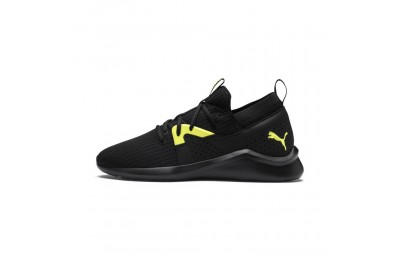 Puma Emergence Future Men's Training Shoes Black-Charcoal-Yellow Outlet Sale