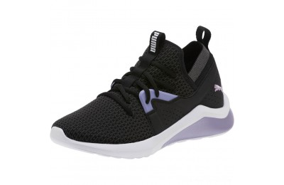 Black Friday 2020 Puma Emergence Cosmic Women's Sneakers Black-Sweet Lavender Outlet Sale