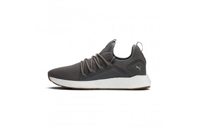 Black Friday 2020 Puma NRGY Neko Future Men's Running Shoes Charcoal Gray-Taos Taupe Outlet Sale