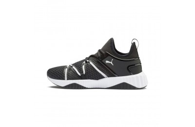 Puma Defy Deco Men's Training Shoes Black- White Outlet Sale