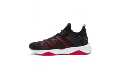 Black Friday 2020 Puma Defy Deco Men's Training Shoes Black-High Risk Red Outlet Sale