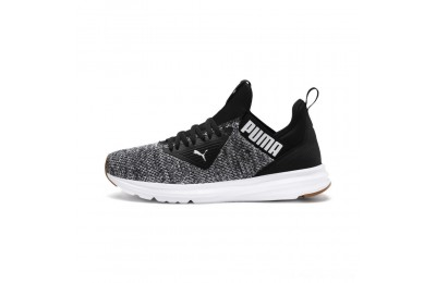 Black Friday 2020 Puma Enzo Beta Woven Men's Training Shoes Black- White Outlet Sale