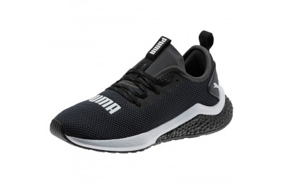 Puma HYBRID NX Running Shoes JR Black- White Outlet Sale