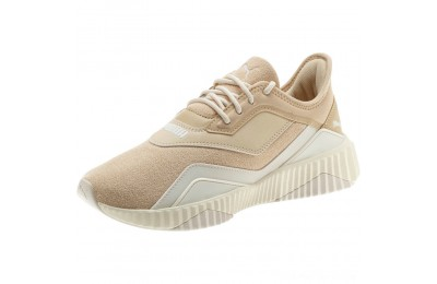 Puma DEFY Stitched Z Women's Sneakers Pebble-Whisper White Outlet Sale