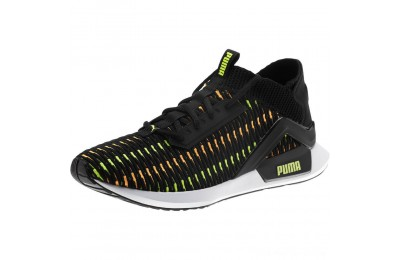 Puma Rogue Corded Men's Sneakers Black-Orange Pop Outlet Sale