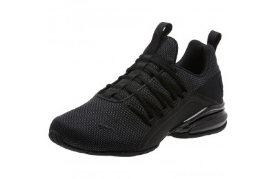 Black Friday 2020 Puma Axelion Mesh Sneakers Black-Asphalt Outlet Sale