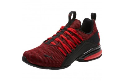 Puma Axelion Mesh Sneakers High Risk Red- Black Outlet Sale