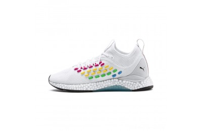 Black Friday 2020 Puma FUSEFIT HEATMAP Women's Running Shoes White-Glacier Gray Outlet Sale