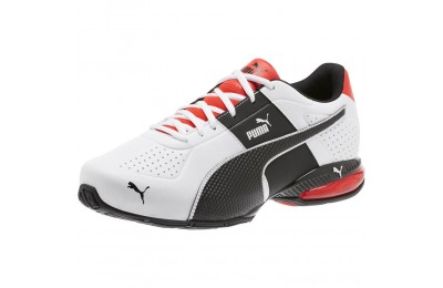 Puma Cell Surin 2 Wide Men's Training Shoes Pma Wht-Pma Blk-Flme Scarlet Outlet Sale