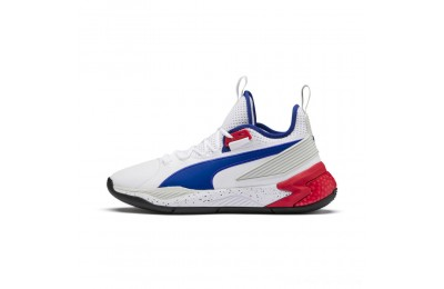 Puma Uproar Palace Guard Basketball Shoes White-Surf The Web Outlet Sale