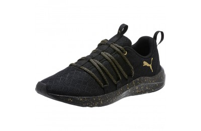 Black Friday 2020 Puma Prowl Alt Mesh Speckle Women's Sneakers Black- Team Gold Outlet Sale