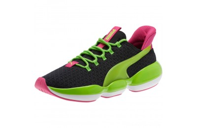 Black Friday 2020 Puma Mode XT 90s Women's Training Shoes Black-Limepunch-Purple Outlet Sale