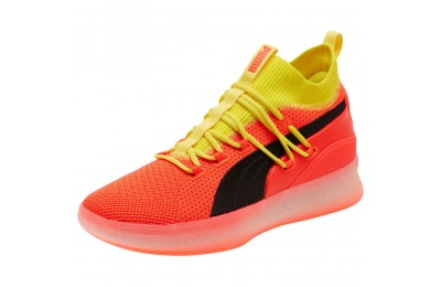 Puma Clyde Court Basketball Shoes JRRed Blast Outlet Sale