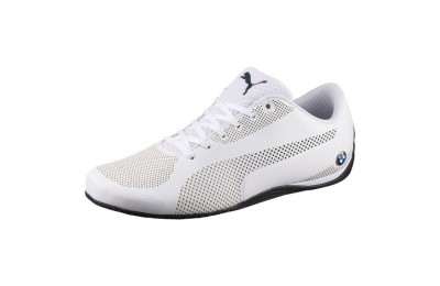 Black Friday 2020 Puma BMW Motorsport Drift Cat 5 Ultra Training Shoes Wht-Team Blu-Hgh Rsk Rd Outlet Sale