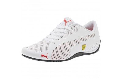 Black Friday 2020 Puma Scuderia Ferrari Drift Cat 5 Ultra Sneakers White-Rosso Corsa-Black Outlet Sale