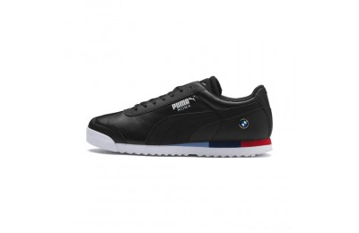 Black Friday 2020 Puma BMW MMS Roma Men's Sneakers Black- Black Outlet Sale