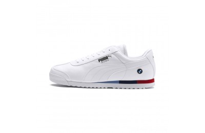 Black Friday 2020 Puma BMW MMS Roma Men's Sneakers White- White Outlet Sale