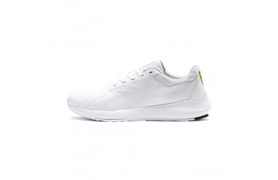 Puma Scuderia Ferrari Evo Cat II Sneakers White- White Outlet Sale