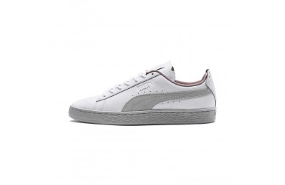 Black Friday 2020 Puma Scuderia Ferrari Basket Sneakers White-Glacier Gray Outlet Sale