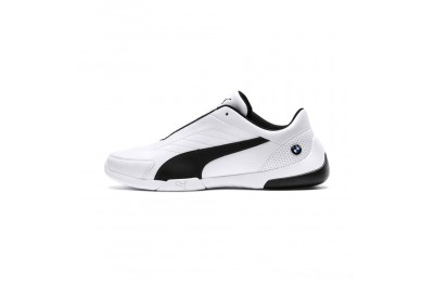 Black Friday 2020 Puma BMW M Motorsport Kart Cat III Sneakers White-Anthracite Outlet Sale