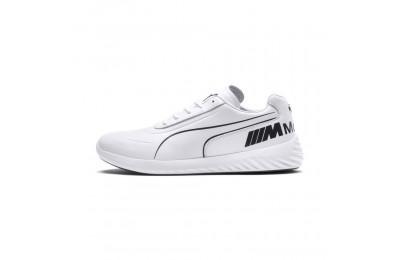Puma BMW M Motorsport SpeedCat Evo Synth Sneakers White-White-Anthracite Outlet Sale