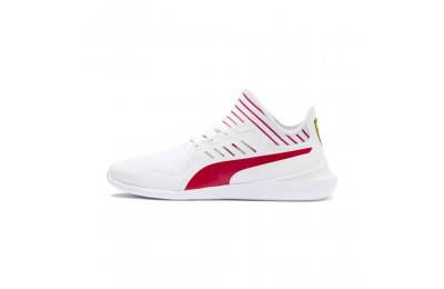 Black Friday 2020 Puma Scuderia Ferrari Evo Cat Mace Sneakers White-Rosso Corsa Outlet Sale