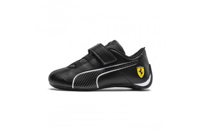 Black Friday 2020 Puma Scuderia Ferrari Future Cat Ultra Sneakers INF Black- White Outlet Sale