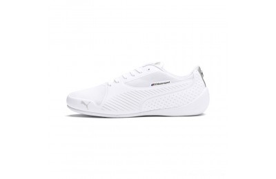 Black Friday 2020 Puma BMW MMS Drift Cat 7 Ultra Shoes White- Silver Outlet Sale