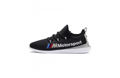 Puma BMW MMS Evo Cat Racer Black- Silver Outlet Sale