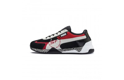 Black Friday 2020 Puma Scuderia Ferrari Speed HybridBlack-White-Rosso Corsa Outlet Sale