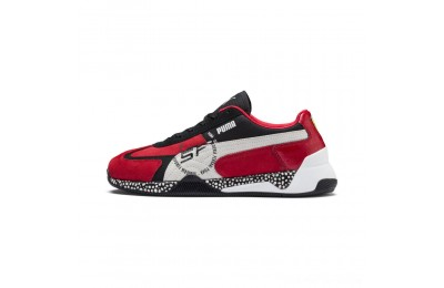 Black Friday 2020 Puma Scuderia Ferrari Speed HybridRosso Corsa-White-Black Outlet Sale