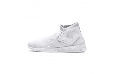 Puma Porsche Design HYBRID evoKNIT Men's Running Shoes White- White Outlet Sale