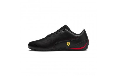 Black Friday 2020 Puma Scuderia Ferrari Drift Cat 5 Ultra II Men's Sneakers Black-Rosso Corsa Outlet Sale