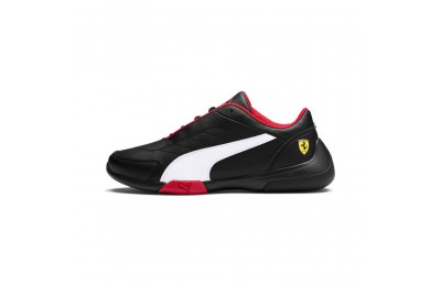 Black Friday 2020 Puma Scuderia Ferrari Kart Cat III JR Black- White Outlet Sale