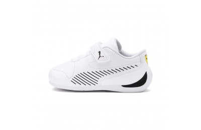 Puma Scuderia Ferrari Drift Cat 7S Ultra V PS White- Black Outlet Sale
