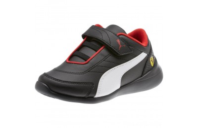 Puma Scuderia Ferrari Kart Cat III AC Sneakers PS Black- White Outlet Sale