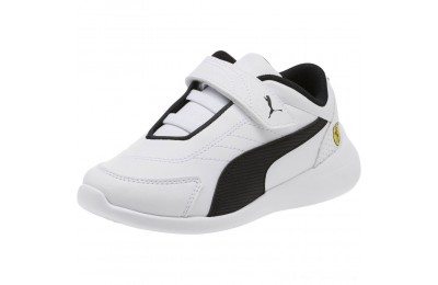 Puma Scuderia Ferrari Kart Cat III AC Sneakers PS White- Black Outlet Sale