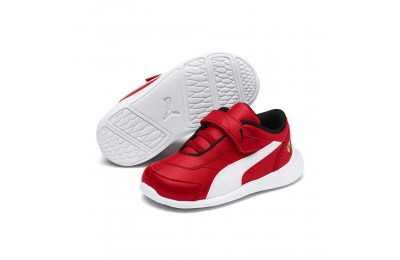 Black Friday 2020 Puma Scuderia Ferrari Kart Cat III INFRosso Corsa- White Outlet Sale