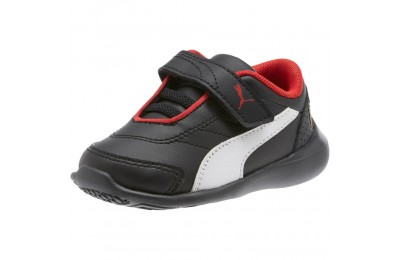 Black Friday 2020 Puma Scuderia Ferrari Kart Cat III INF Black- White Outlet Sale