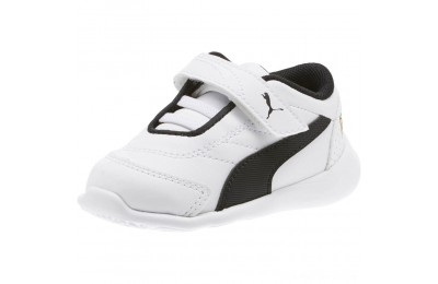 Puma Scuderia Ferrari Kart Cat III INF White- Black Outlet Sale